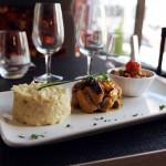 Les plats du restaurant La Coupole à Annecy