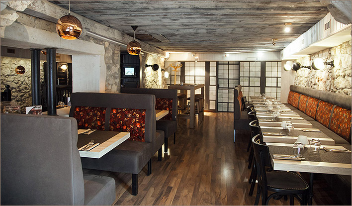 Visite virtuelle du restaurant La Coupole